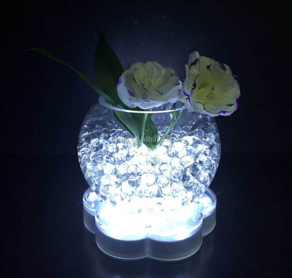 6 inch Vase Base Light / Vase LED Light Base for Wedding Centerpiece decoration,.