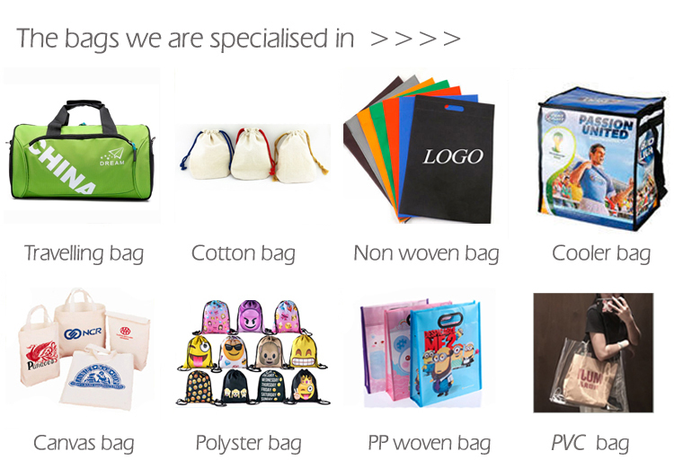 Hot sale Printed shopping package plastic bag for clothing shop with handle common use in stock bag wholesale