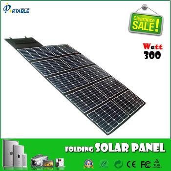 High Power 300 Watt High Effi Sunpower Solar Panel