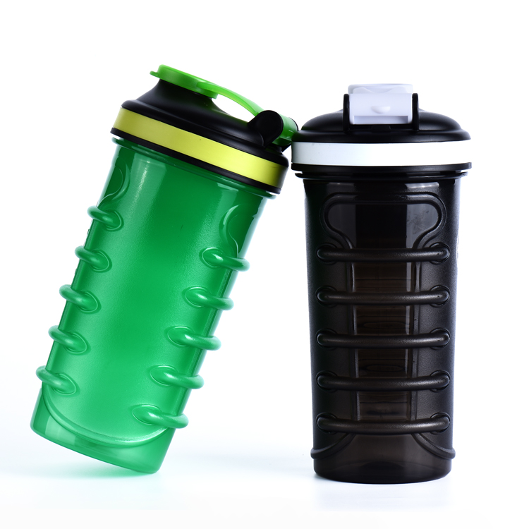 USA Best Selling Proteins Shaker,Hands Free,EasyGrip,Shoe Lace Whey Cup,Mixing Ball,700ml
