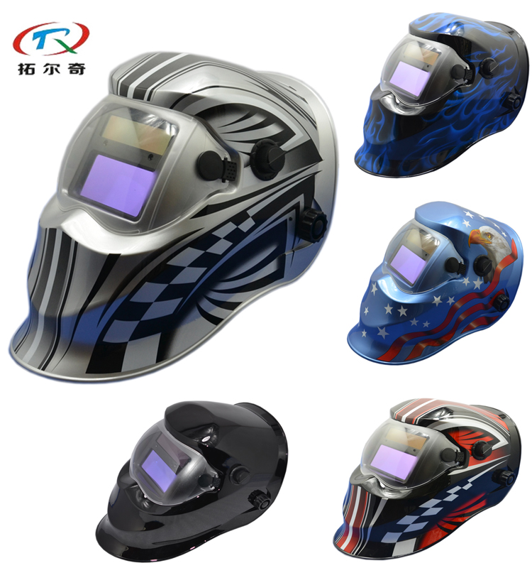TRQ-KD03 lens filter welding helmet colorful custom oem welding face mask