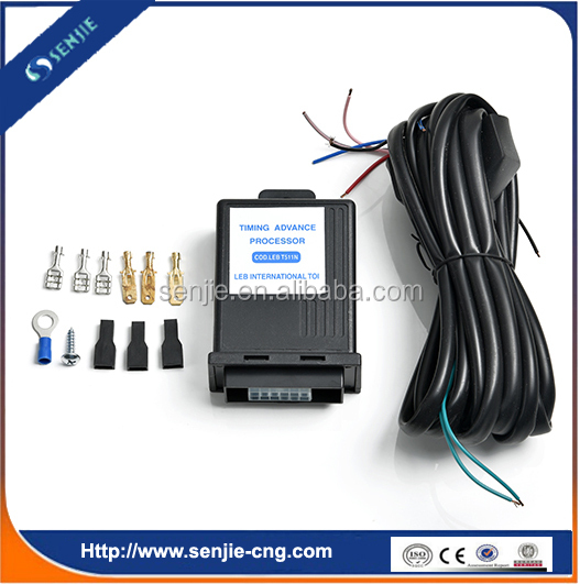 CNG LPG kit timing advance processor for automobile