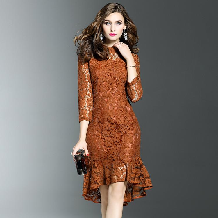 New Smart Elegant Dress 3/4 Sleeve