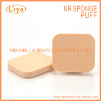 New skin design cosmetic facial latex sponge