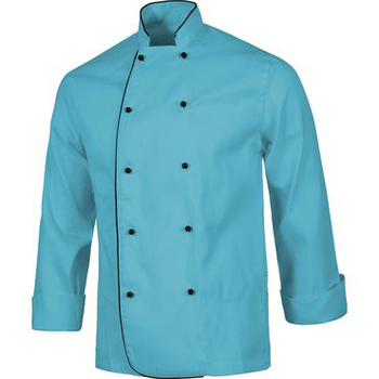 High quality wholesale men and women are all side of the skirt stitching collar chef uniform jacket for the hotel and restaurant
