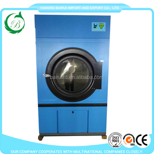 Easy loading/unloading industrial used gas tumble dryer