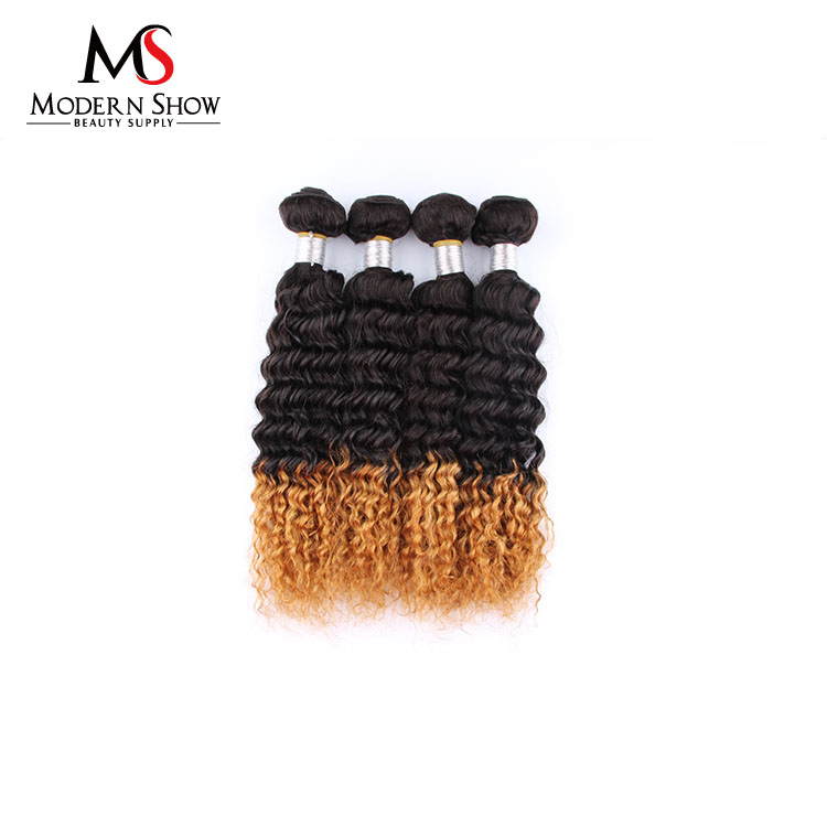 Xuchang hair two tone brazilian hair weft curly hair braiding