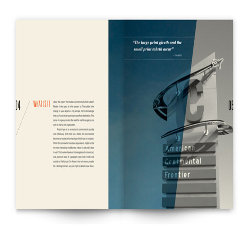 Custom low price A4 A5 Brochure / Booklet / Flyer / Catalog Printing