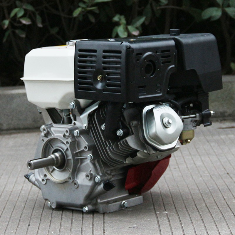 Bison factory 13hp air cooled 4 stroke 188f gx390 engine for Honda gx390 oil capacity