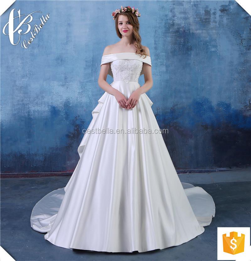 Свадебные платья с вышивкой на юбке