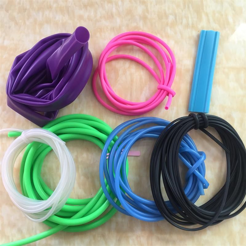 Customized Size Extruded Flexible Large Diameter Thin Wall Silicone Rubber Tube Supplier in China