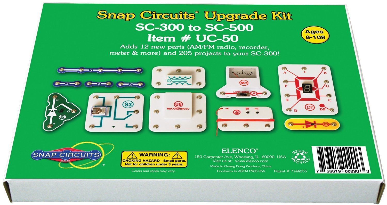 Cheap Snap Electronics Kit Find Deals On Line Learn About With Circuits Junior Get Quotations Uc 50 Upgrade Sc 300 To 500 Projecth