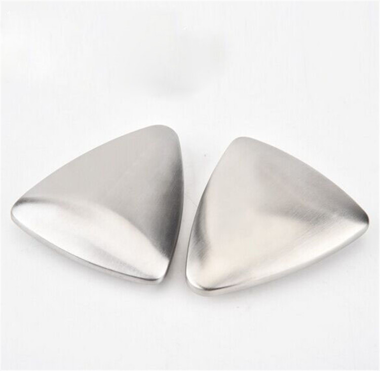 High quality Kitchen Bar Use Stainless Steel Soap in Triangle Shape