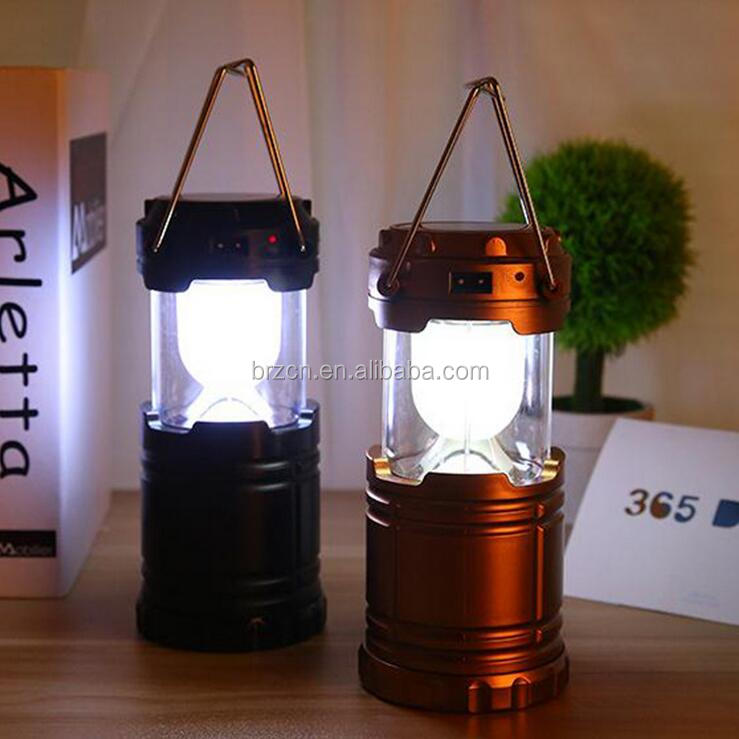 8 Led Solar Rechargeable Lantern,Solar Rechargeable Camping ...