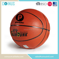 Sedex audit factory pu leather basket ball in bulk