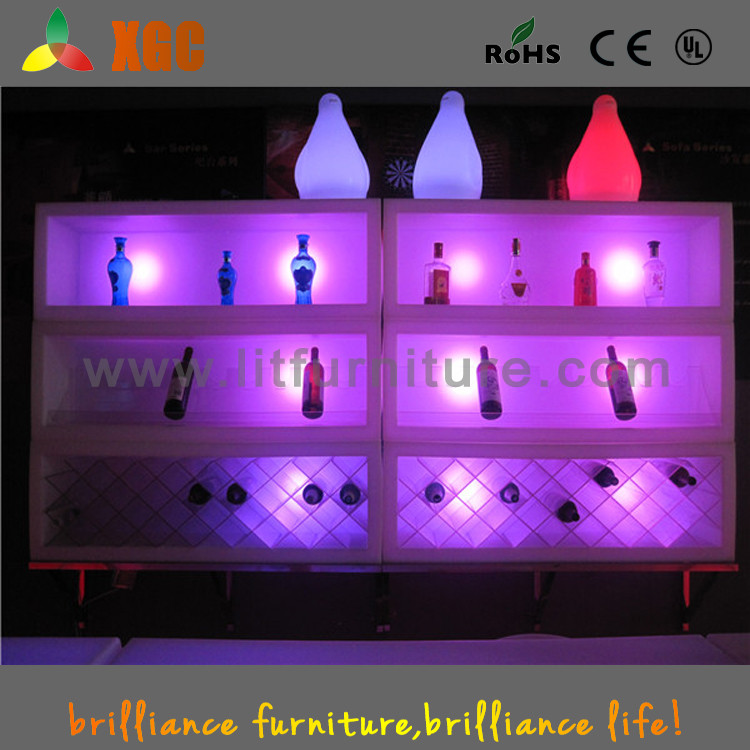 wine rack/led wine set/led ice bucket