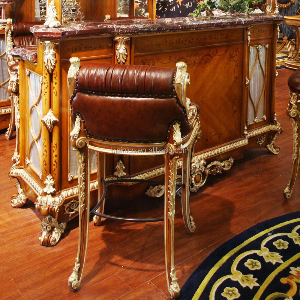 Estilo Franc S De Lujo Barroco Muebles Bar En Casa Europeo Cl Sico  # Muebles Tallados En Madera