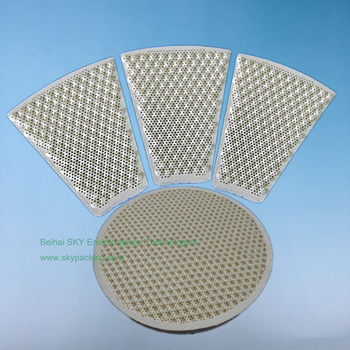 Monolith Infrared Cordierite Honeycomb Ceramic Plate used in pizza ovens  sc 1 st  Alibaba & Monolith Infrared Cordierite Honeycomb Ceramic Plate Used In Pizza ...