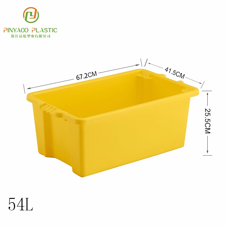 Factory sale customized plastic crate for bottles