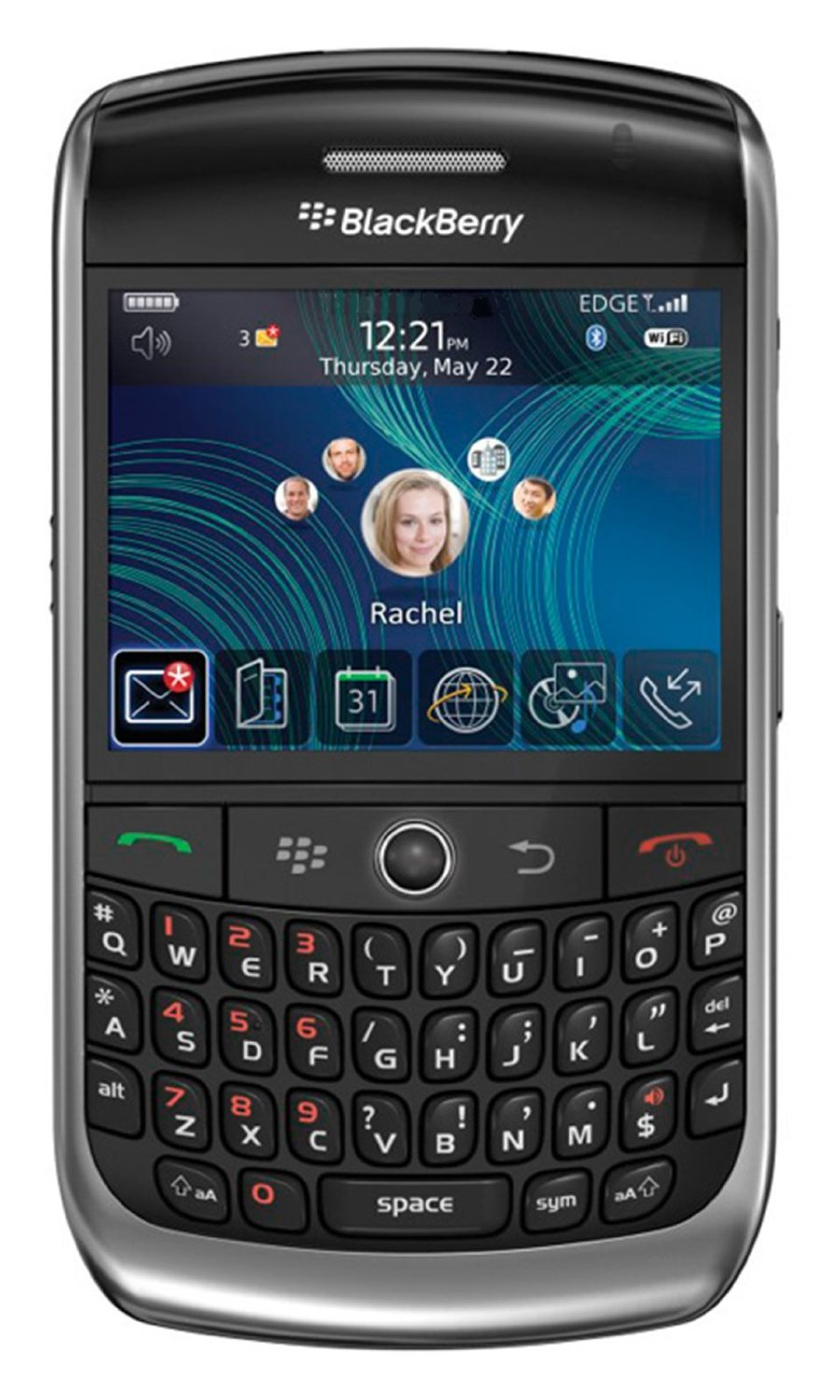 Get Quotations · BlackBerry Curve 8900 Javelin Unlocked Phone with 3.2 MP  Camera, gps navigation-International Version