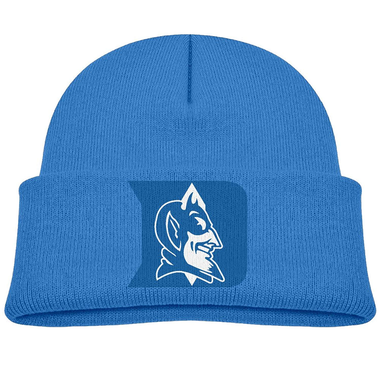 45b2316c60f53 Get Quotations · Duke Blue Devils Kids Beanie Skull Hat Knitted Cap Ash