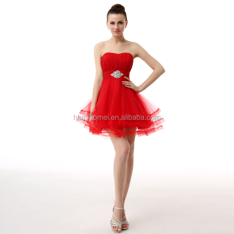 Red Short Off-shoulder Spanish Style Traditional Formal Latin ...