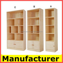 modern custom bookcases design, wooden bookcase,cabinet,book rack