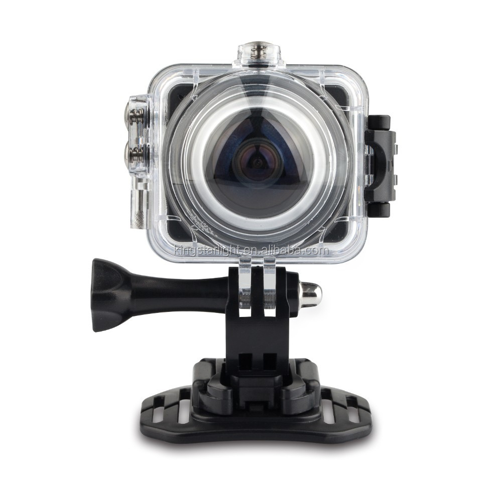 1.5 inch lcd wifi wireless VR 360 Degree Mini Sports Action Camera 4K 12MP Panoramic DVR WIFI Camera Camcorder Recorder OEM