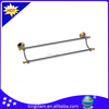 Bathroom brass double towel bar from Shenzhen hardware KBM8802