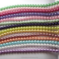 China Imitation Glass Pearl For Fashion Jewelry Necklace, Pearl Beads Wholesale In Bulk