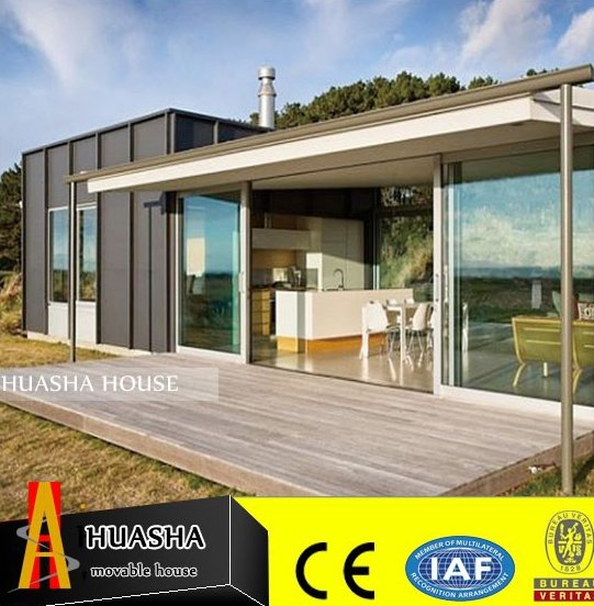 Cheap modern container luxury prefabricated houses