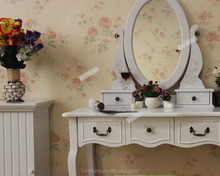 Jewelry make up dressing table with storage drawer