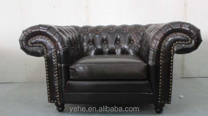 Luxury Italian Sofa Chesterfield Sofa Italian Leather Sofas Office Sofa  Modern Leather Sofa Section Sofa Genuine Leather,Yh 136n   Buy Italy  Leather Sofa ...