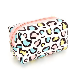 New fashion custom printed zipper bags for cosmetics makeup pouch bag