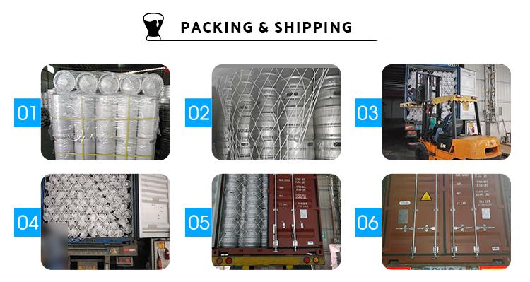 Sıcak satış 304 Paslanmaz çelik ABD 5L / 10L / 20L / 30L / 58L İnce bira varil / Bira keg