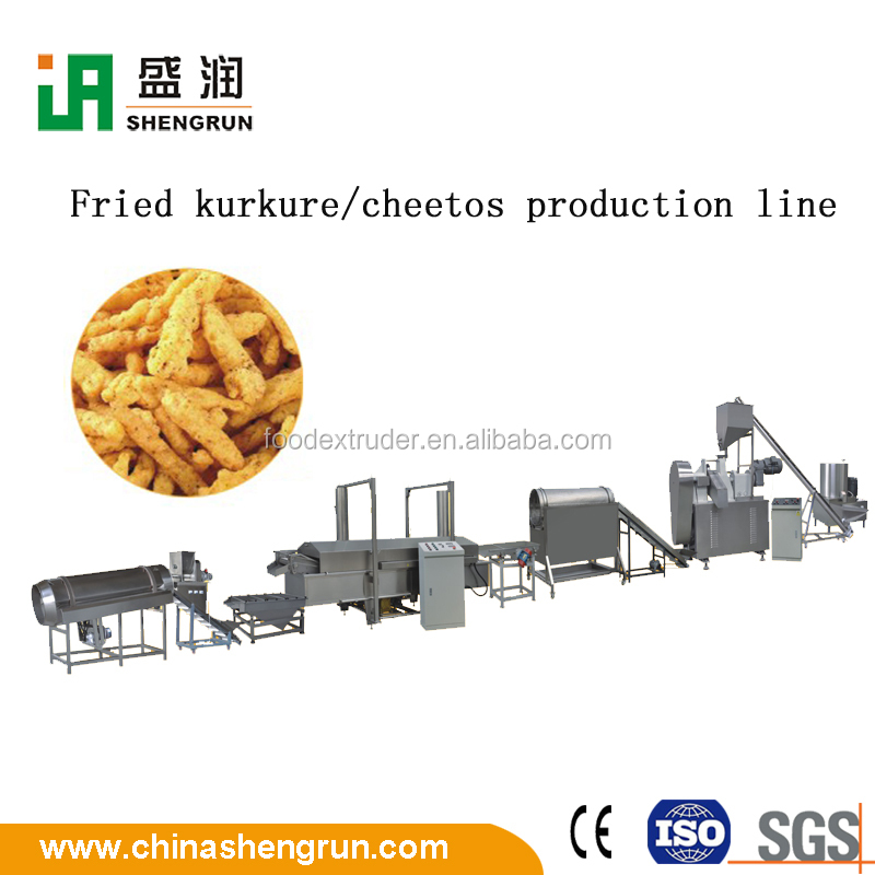 Single Screw Rotary Head Extruder Corn Kurkure Snack Extruding Machine