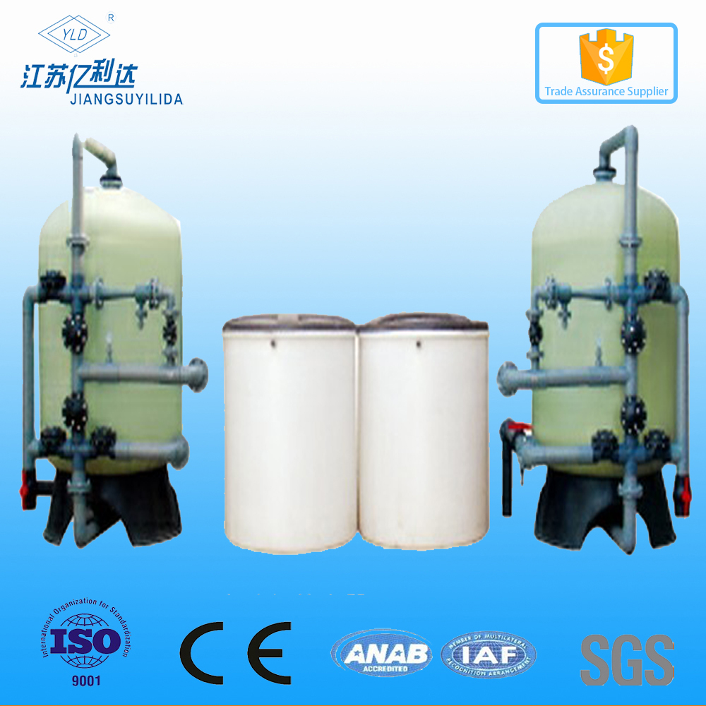 Sodium lon Exchange Water Softner Filter Treatment Plant