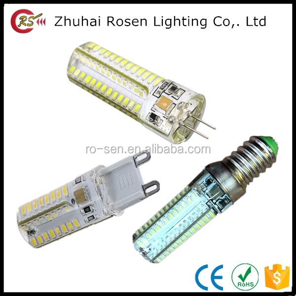 multi color led G4 G9 pin 1.5w 2w 1.8w 2.5w 3w 4w 5w 12 volt DC g9 led bulb light lamp