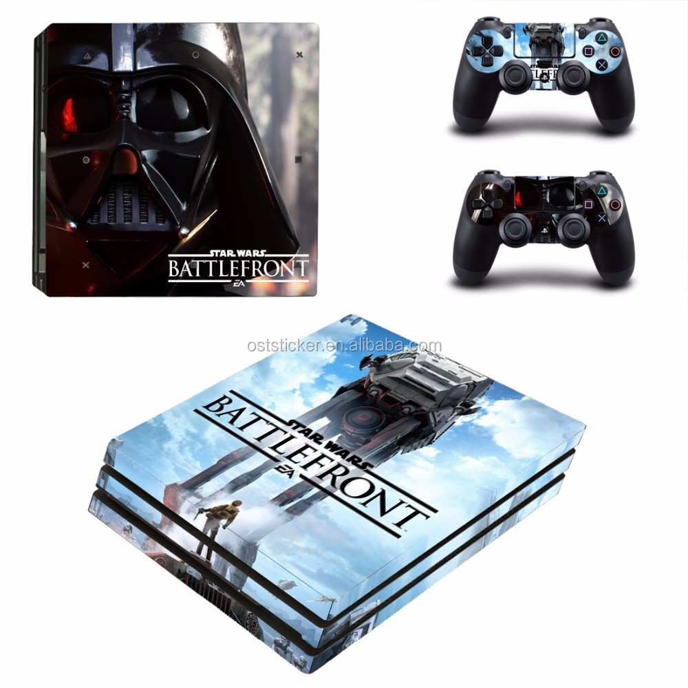 Wholesale Vinyl Sticker Cover For Sony Playstation 4 Pro Console Controller Video Games