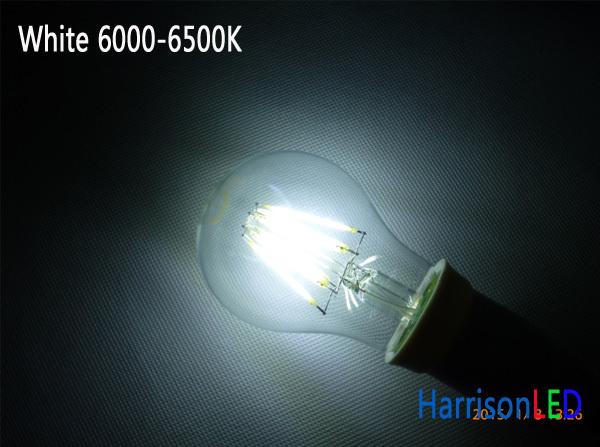 A19 Full Glass Sapphire Cob Filament Led Light Bulbs Replace ...