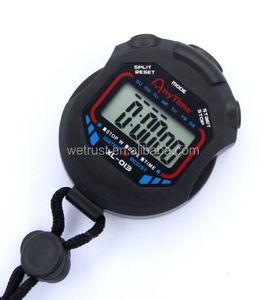 Cheap Multifunction Sports Running Big LCD Digital Countdown Stopwatch