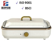 Multifunctional Electric Korean BBQ Grill Flat plate Hot Pot