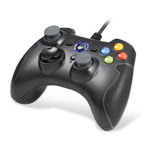 Free Sample Trade Assurance Wired Gamepad Joystick for Windows/ Android/ PS3/ TV Box (Black) Game Controller