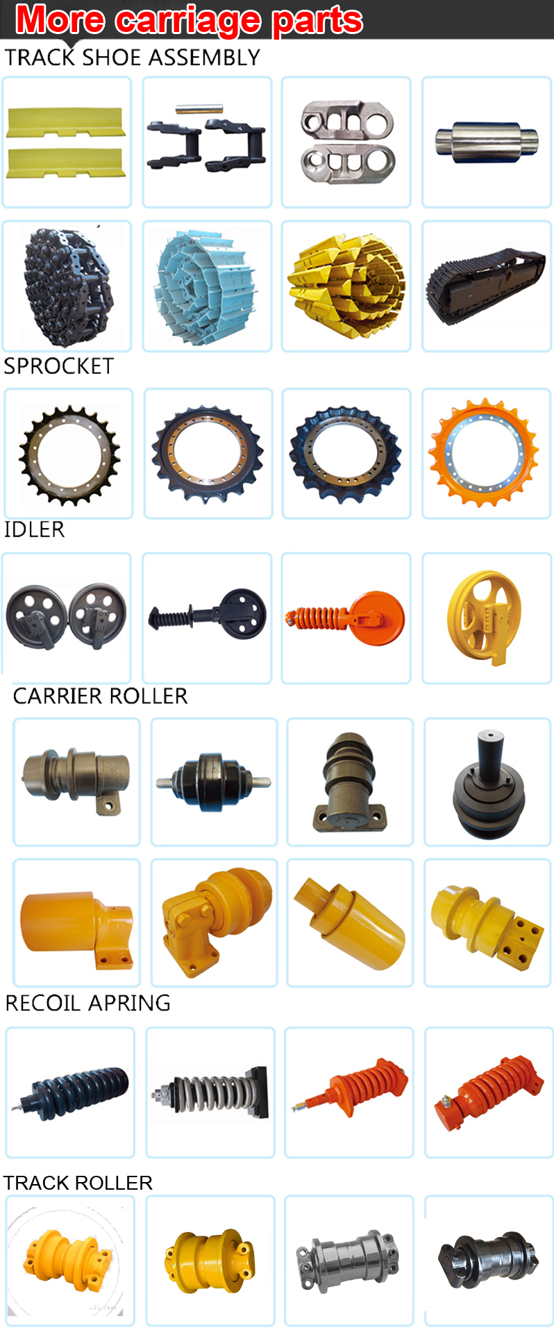 Roller dozer shoes - Competitive Price Forged Bull Dozer Track Roller Bd2g Bilateral E Track Roller Idler Fitting Assembly