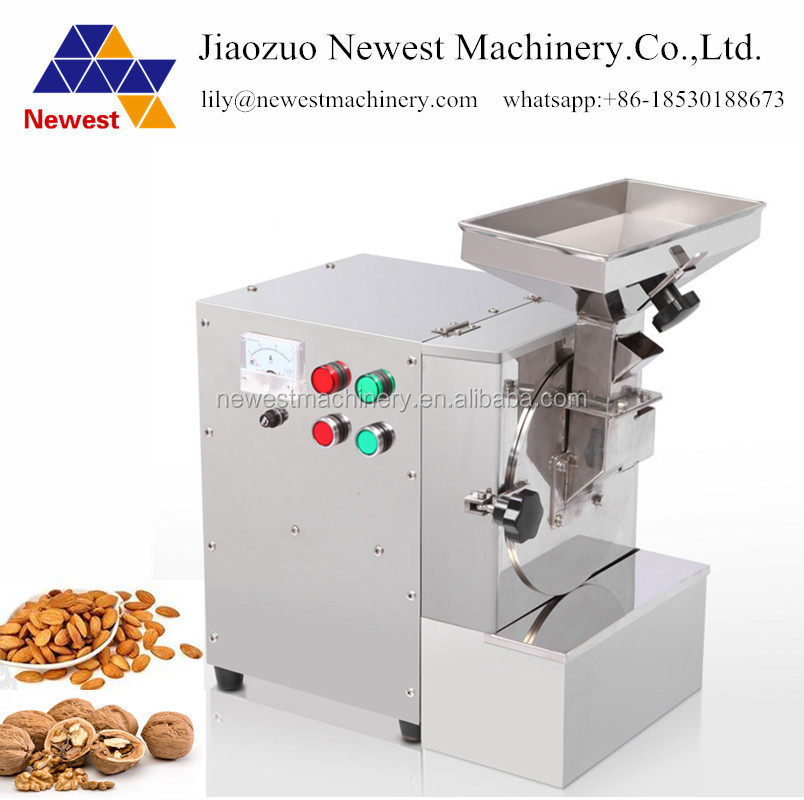 Speed 2800r/min peanut and almond crusher dried mustard seeds grinding machine