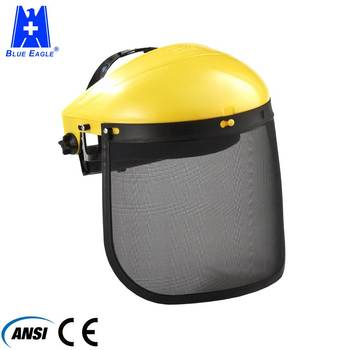Working Protection face steel mesh visor shield
