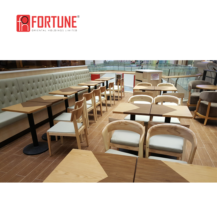 Shopping Mall Furniture Restaurant Booths And Tables Et Chaise