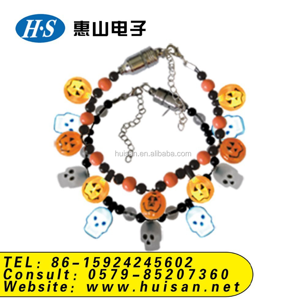 Factory price halloween bracelet gift / New design fashion LED flashing bracelet