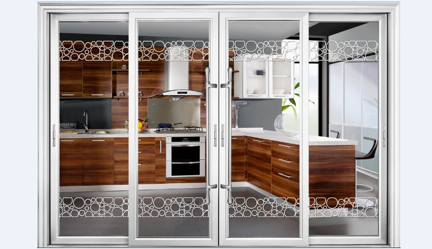 Cheap double glass soundproof aluminum folding interior doors buy cheap interior folding doors for Where to buy cheap interior doors