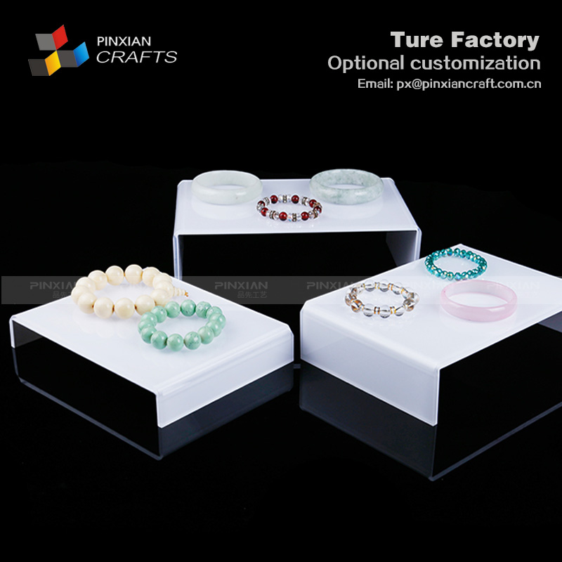 ring pendant jewelry  counter acrylic display stand